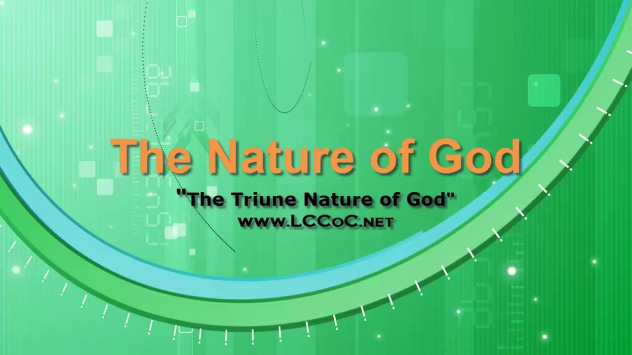 nature of the gods in the The nature of the god of christianity what are his characteristics, his attributes, his qualities.